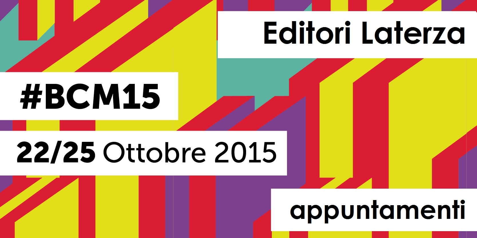 Bookcity 2015 - Appuntamenti Laterza
