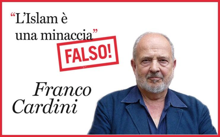 dettaglio dalla copertina con l'immagine di Franco Cardini