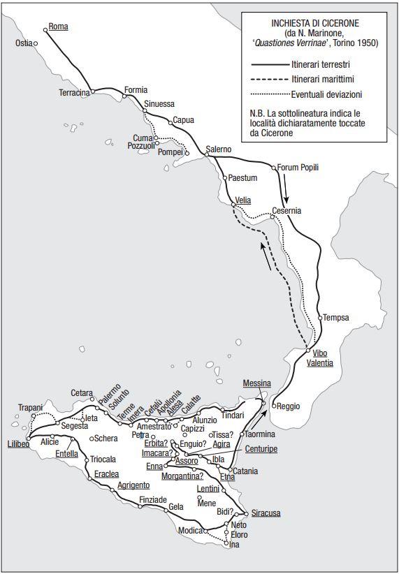 Il viaggio di Cicerone in Sicilia