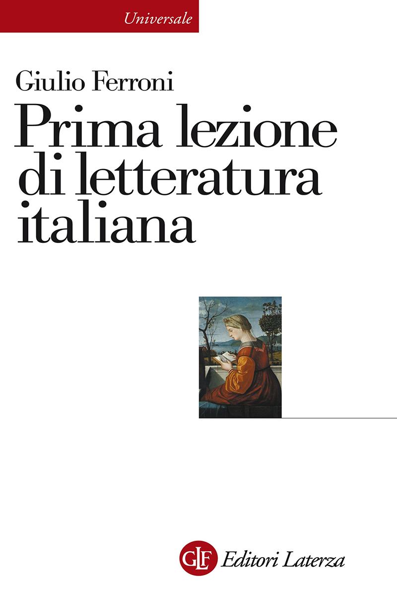 Prima lezione di letteratura italiana