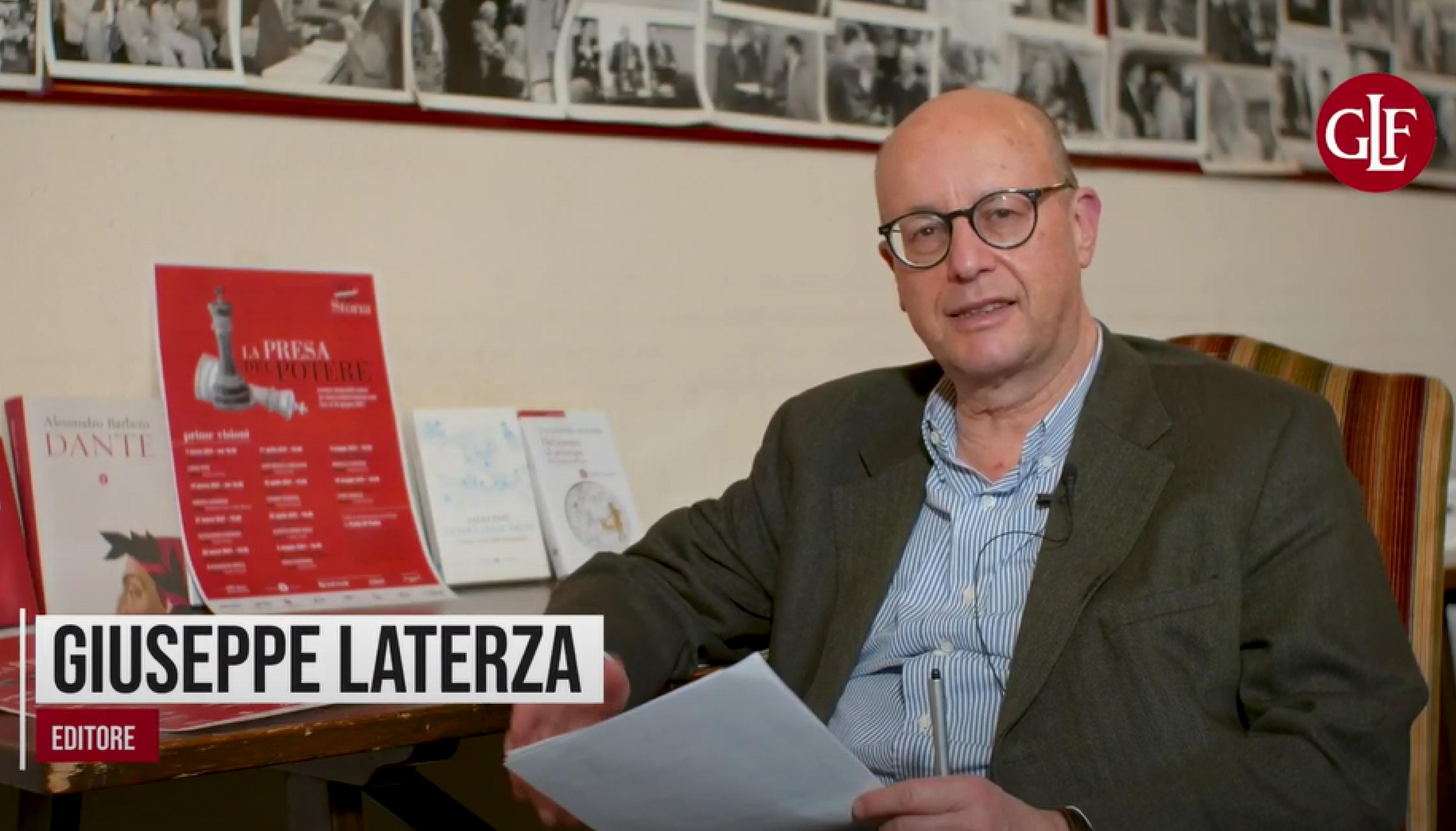 """Giuseppe Laterza racconta """"La presa del potere"""""""