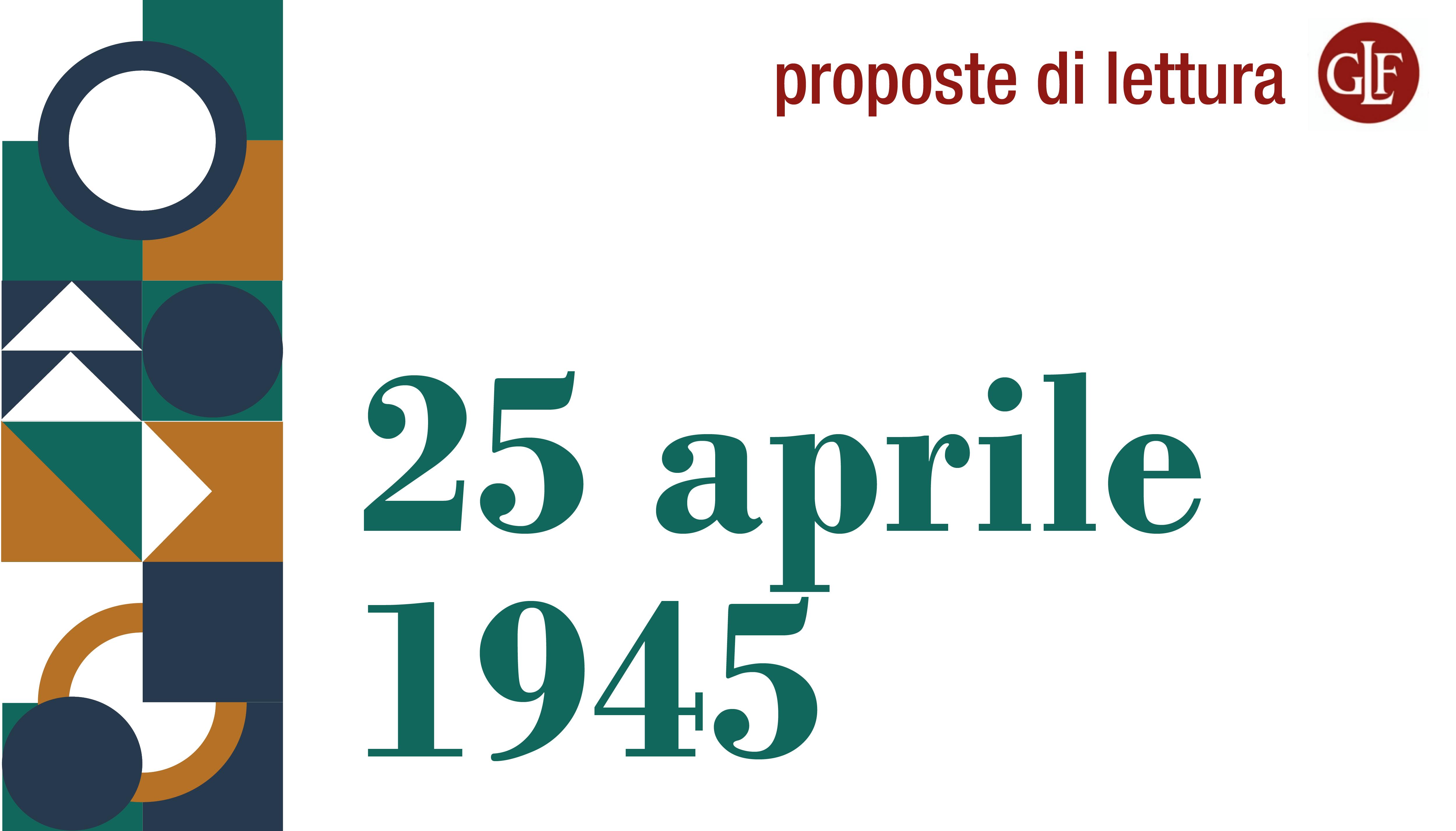 [Proposte di lettura] 25 aprile