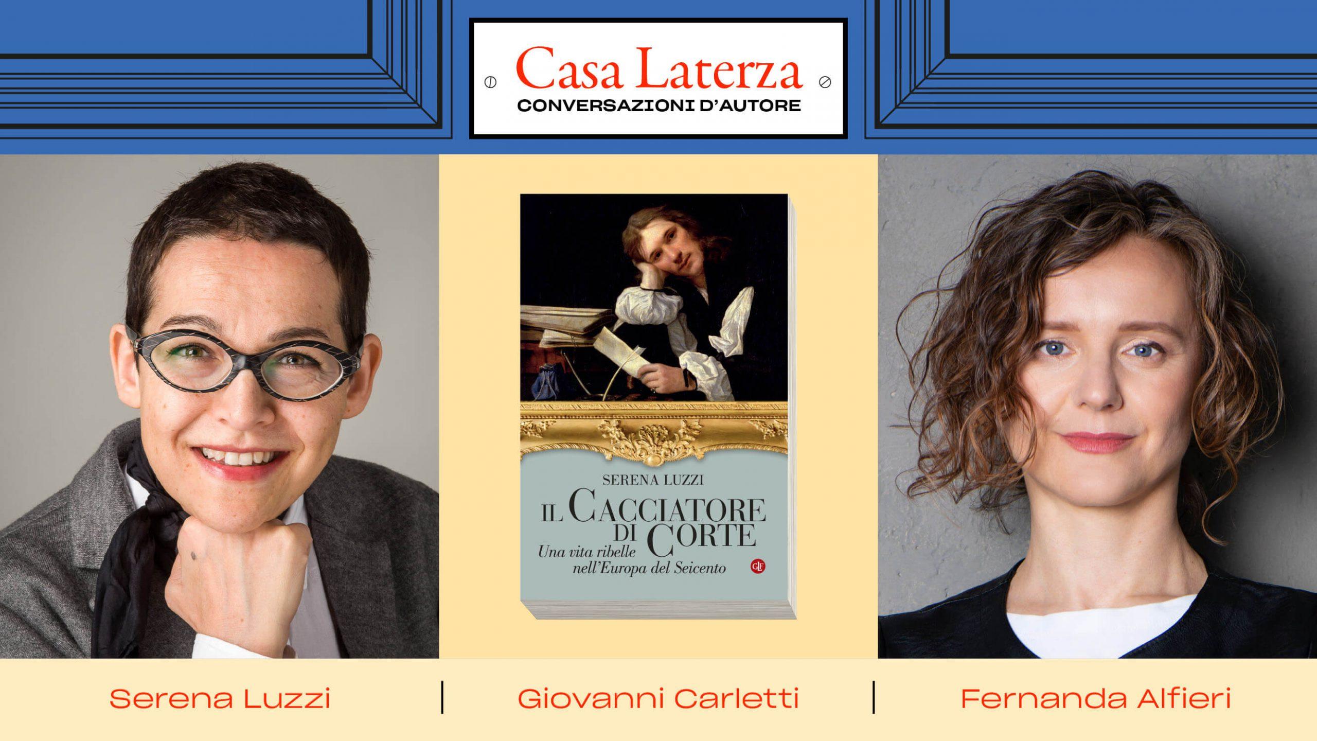 #CasaLaterza: Serena Luzzi dialoga con Fernanda Alfieri