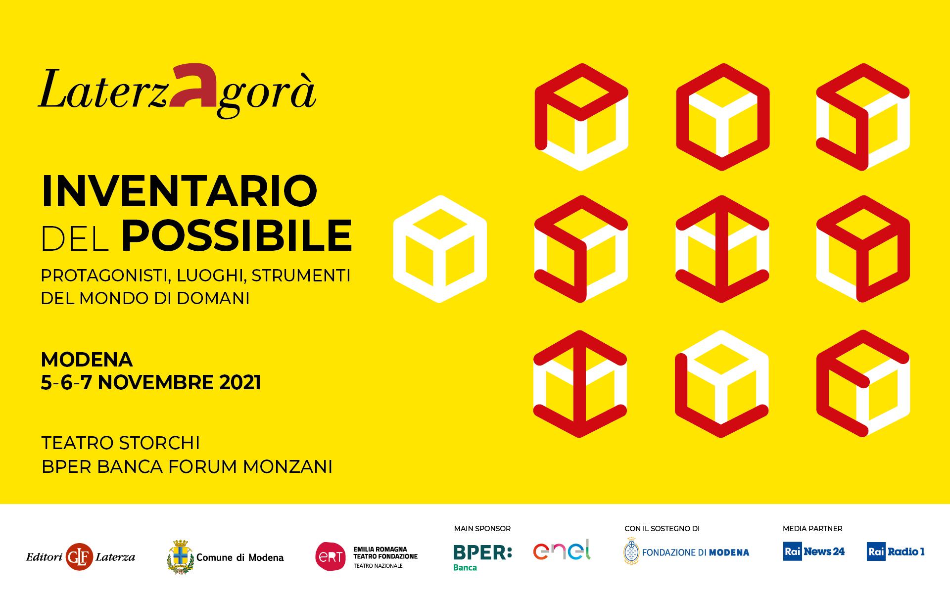 """""""Inventario del possibile"""": dal 5 al 7 novembre a Modena"""